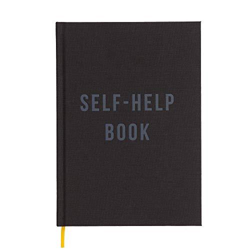 The School of Life – Escrever como agenda de terapia: autoajuda – Notebook de linho para autoajuda