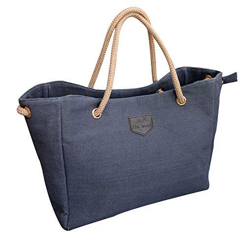 Bfmyxgs Fashion Bag für Frauen Mädchen Canvas Big-Bag Trend Shopping Tasche Schultertasche Rucksack Schultertasche Handtasche Totes Münze Tasche Taille Beutelpackung Brust