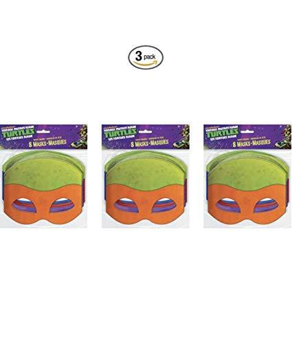 Teenage Mutant Ninja Turtles Masks, 8 Count (3)