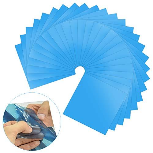 Wndefol - 25 azulejos de plástico autoadhesivos,...