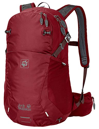 Jack Wolfskin Moab Jam 24 Outdoor Wander Rucksack, red Maroon, ONE Size