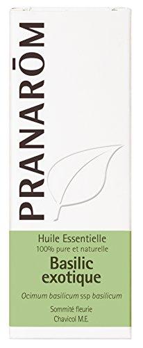 Pranarôm - HUILE ESSENTIELLE - Basilic exotique  - 10 ml - lot de 2