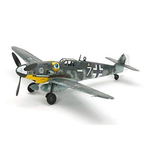 TAMIYA 60790 - 1:72 Bf-109 G-6 Messerschmitt, Modellbau, Plastik Bausatz, Hobby, Basteln, Kleben, Modellbausatz, Modell, Zusammenbauen