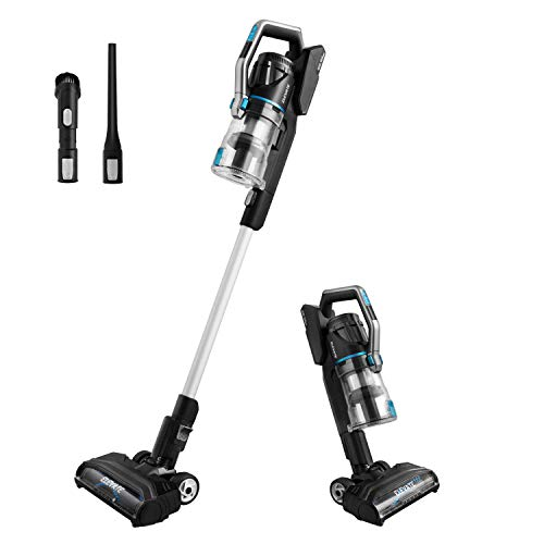 Eureka Lightweight Cordless Vacuum Cleaner, Hight Efficiency for All Carpet and Hardwood Floor LED Headlights, Convenient Stick and Handheld Vac, Elevate