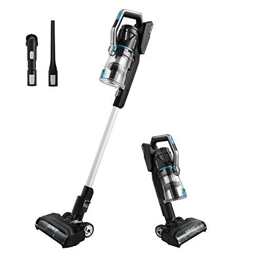 Eureka Lightweight Cordless Vacuum Cleaner, High Efficiency Powerful Motor LED Headlights,...
