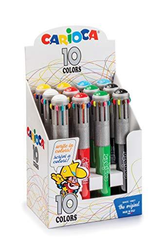 Bolígrafo 10 Colores Vintage 12 Uds