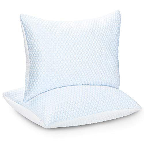 """ZPECC Cooling Pillow Case for Sleeping,Breathable Soft Ice Silk Pillowcase for Night Sweats and Hot Flashes, Q-Max 0.4 Cooling Cover with Hidden Zipper, Machine Washable, Standard 20"""" x 26"""""""