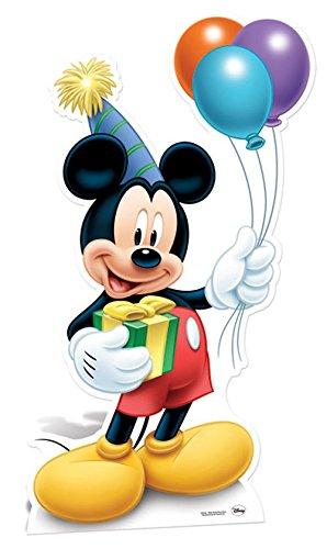STAR CUTOUTS - Disfraz para Adulto Mickey Mouse (SC601)