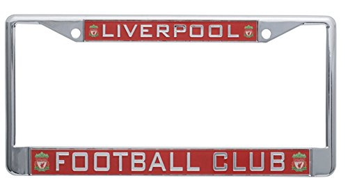 Liverpool FC Red Inlaid License Pla…