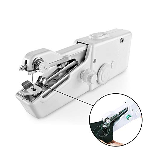 Naaimachines Handheld Naaimachine Portable Needlework Cordless Household Handy Stitch Kleding Quick Stitch ZHQHYQHHX