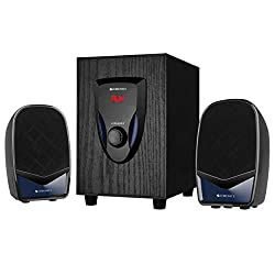 Zebronics Zeb-BT2220 2.1 Speaker Supporting Bluetooth and Aux,ZEBRONICS,Zeb-Bt2220