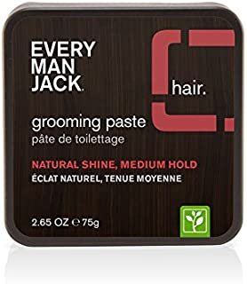 Every Man Jack Grooming Paste, Fragrance Free, 2.65-ounce