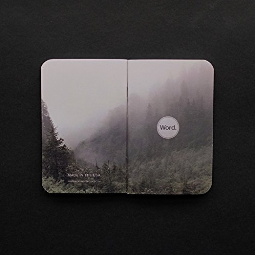 Word. Notebooks Mist - 3-Pack Small Pocket Notebooks Photo #2