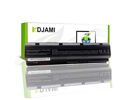 Vervangende laptop batterij MU06 MU09 593553-001 593554-001 593562-001 HSTNN-LB0W HSTNN-UB0W accu voor HP G32 G42 G56 HP Pavilion G4 G6 G7 DM4 HP Presario CQ32 CQ42 CQ43 CQ56 CQ62 (6 cellen 4400mAh 10.8V)