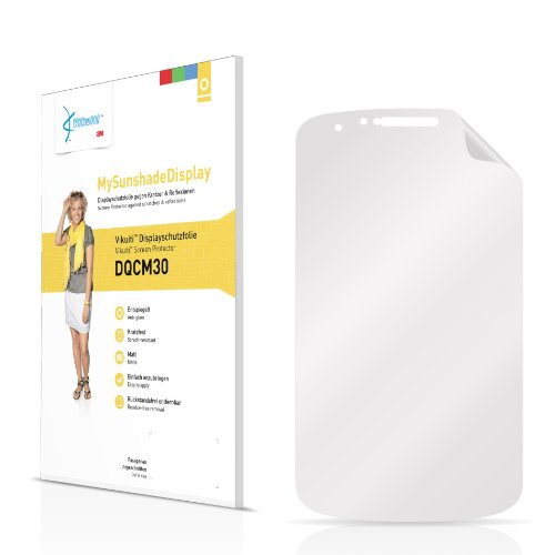 Vikuiti Bildschirmschutzfolie Matt DQCM30 von 3M für Gigabyte GSmart G1345 Folie Schutzfolie Bildschirmfolie - Entspiegelt