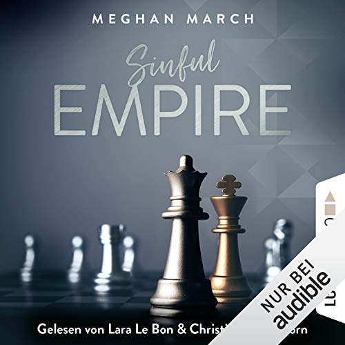 Sinful Empire     Sinful Empire 3              De :                                                                                                                                 Meghan March                               Lu par :                                                                                                                                 Lara Le Bon,                                                                                        Christian Scheibhorn                      Durée : 6 h et 27 min     Pas de notations     Global 0,0