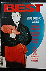 BEST 261 AVRIL 1990 COVER SINEAD O\'CONNOR Depeche Mode Tears for Fears Phil Collins Bowie Chet Baker Thugs Mission