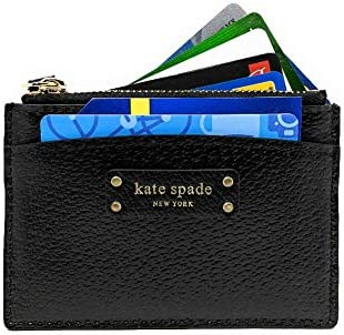 Kate Spade New York Jeanne Small Zip Card Holder Black product image