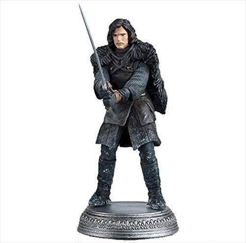HBO Game of Thrones Eaglemoss Figurensammlung #2 Jon Snow (Nights Watch) Figur