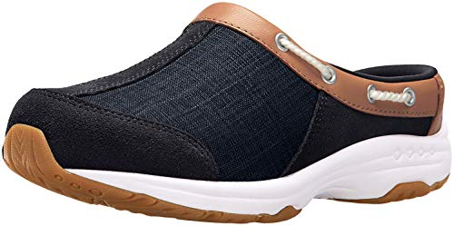 Easy Spirit womens Travelport19 Mule, Blue 410, 6.5 US
