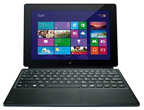 Odys Wintab 10 2in1 Bonusset 25,7 cm (10,1 Zoll) Tablet-PC (Intel Atom Z3735F, 1,83GHz, 2 RAM, 32GB HDD, Windows 8.1, Touchscreen, Bluetooth 4.0, OTA, Office 365) schwarz inkl. Tastatur