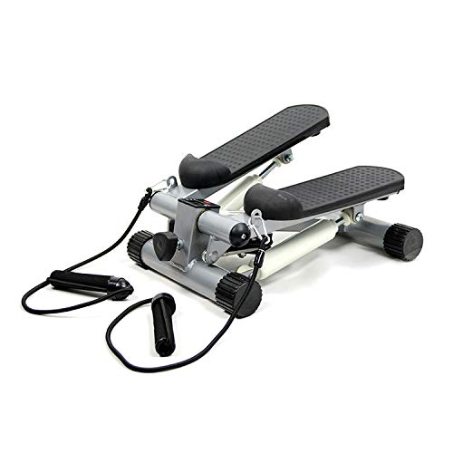 Amazing Deal Rabbfay Mini Home Aerobic Fitness Stepper, Small Stepper Swing Machine Ropes Fitness Wo...