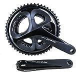 SHIMANO BIELAS 105 R7000 11V Ciclismo, Adultos Unisex, Negro(Negro), 170mm 52/36