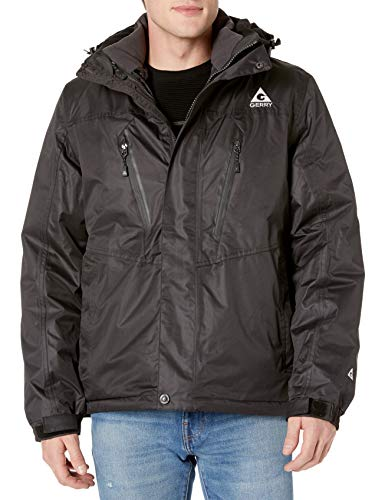 Gerry Men's Crusade Systems Jacket, Black, Small