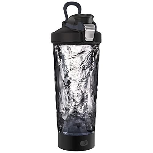 Blackube Elektrischer Shaker Protein Shaker BPA frei Tritan 600ml Portable Electric Vortex Mixer USB-Aufladung Rechargeable Electric Blender