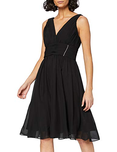 Astrapahl br07016ap Vestido, Negro (Negro), 32 para Mujer