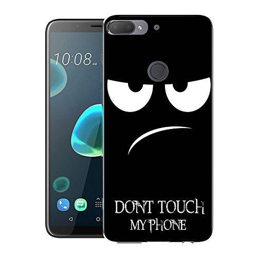 HTC Desire 12 Plus / Desire 12+ Handy Tasche, FoneExpert® Ultra dünn TPU Gel Hülle Silikon Hülle Cover Hüllen Schutzhülle Für HTC Desire 12 Plus / Desire 12+