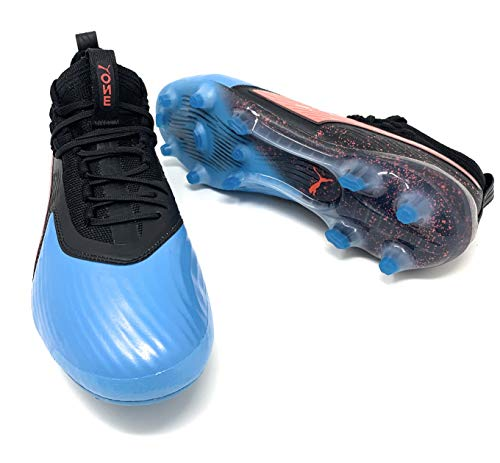 PUMA Mens One 19.1 Firm Ground Soccer Cleats - Blue - Size 11 D