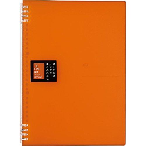 キングジム リングノート テフレーヌ A4 オレンジ 9856TTEオレ