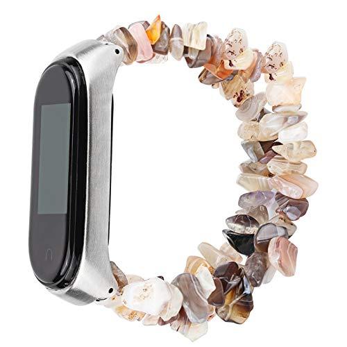 NCCZ Correa de Reloj, Adecuada para Xiao MI Band 3, Compatible con Xiao MI Band 3/4/5, reemplace la Pulsera, Cinta de Reloj de joyería (Color : Strap 12)