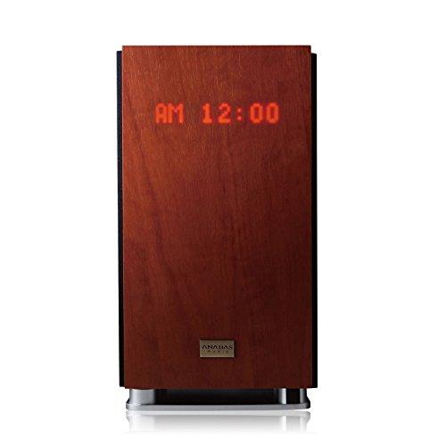 太知ホールディングス CDクロックラジオシステム AA-001 ブラウン、茶色 (約)幅19.5×奥行18.3×高さ35.6cm(突起含まず)