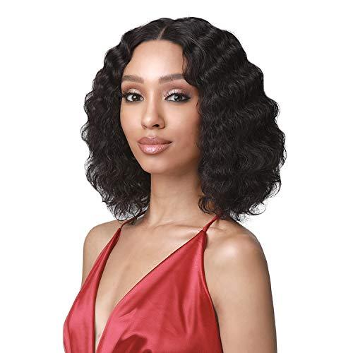 Bobbi Boss Unprocessed Human Hair HD Lace Front Wig MHLF437 Edith (NATURAL BK)