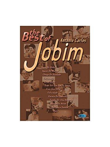 The Best of Antonio Carlos Jobim. Partitions pour Piano, Chant et Guitare
