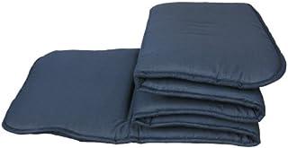 トラック用 寝具 ブラックパンサーシリーズ 六ツ折敷きマット 201-1001