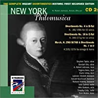Complete Mozart Divertimentos Historic First 2