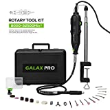 Rotary Tool Kit, GALAX PRO 135W Rotary Tool with Variable Speed 8000-32500rpm, 40 Accessories, 3 Attachment...