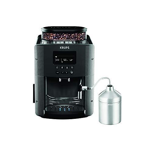 Krups Pisa EA816B Cafetera automática, Negro