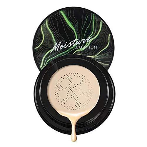 precauti Pilzkopf Luftpolster BB Creme, Concealer Anhaltende Feuchtigkeitsspendende Aufhellung CC Flüssige Foundation Make-up Kosmetisches Werkzeug für Frauen