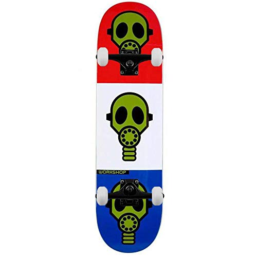 Alien Workshop Gas Mask Bright Complete Skateboard Multi 21,3 cm