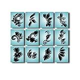 Airbrush Schablonen Nailart selbstklebend