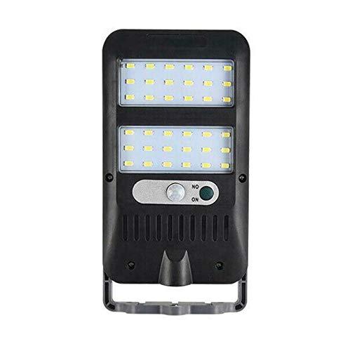 WOVELOT Luz de Calle Solar Sensor de Movimiento PIR una Prueba de Agua Luz de Pared Solar para Cerca de JardíN Al Aire Libre VíA de Garaje