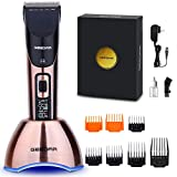 Best Hair Clippers For Fades - Professional Cordless Hair Clippers for Men Review