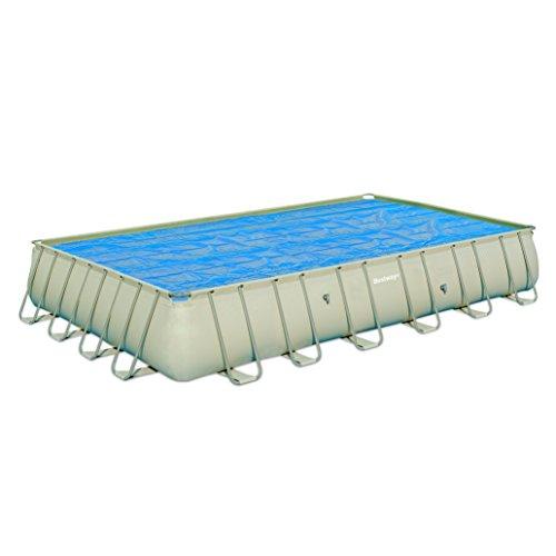 Telo di copertura solare isotermico per piscina rettangolare frame o ultra frame di 732x366 cm