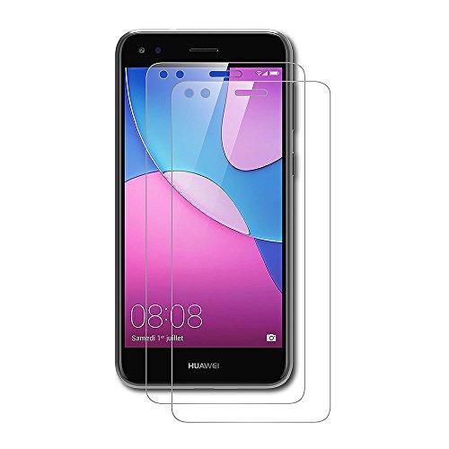 AICEK [2 Pack] Huawei Y6 PRO 2017 Pellicola Protettiva, Huawei Y6 PRO 2017 Screen Protector Toccare Compatibile Pellicola Protettiva Ultra Resistente in Vetro temperato per Huawei Y6 PRO 2017 Vetro