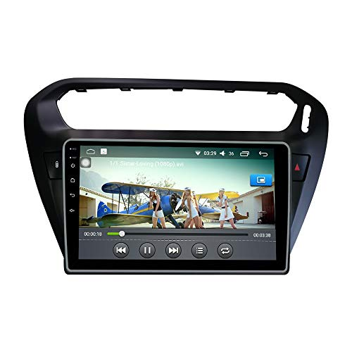 Android 10 Autoradio Car Navigation Headunit Multimedia Player GPS Radio Touch Screen for Peugeot 301 2013-2016