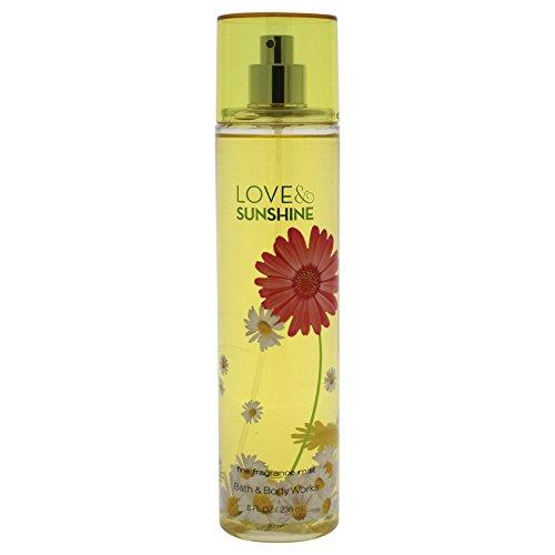 Bath & Body Works Fine Fragrance Mist for Women, Love and Sunshine, 8 Ounce